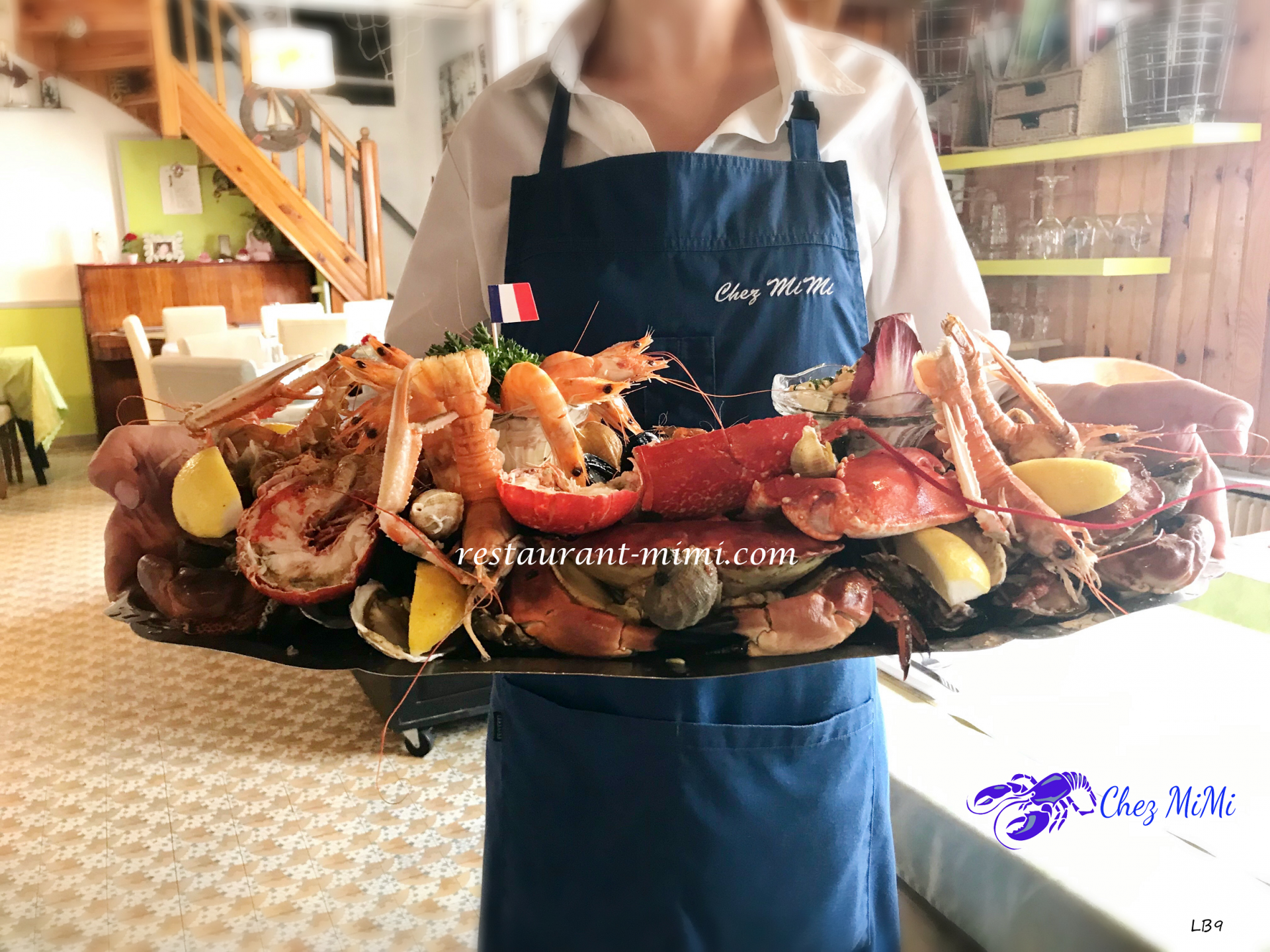 Notre Royal Plateau de Fruits de Mer ( d'Avril à Octobre)